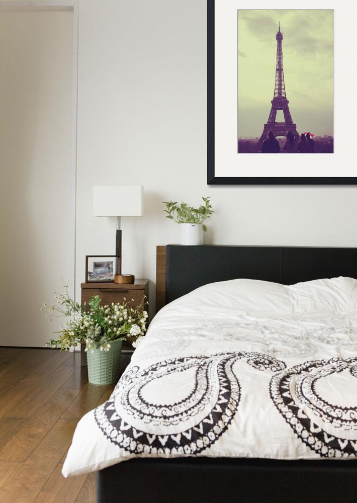 """View of the Eiffel Tower&quot  (2010) by Jdillon"