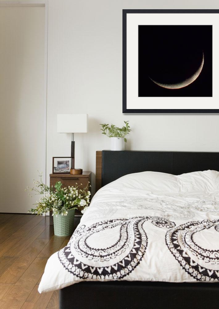 """""""Crescent moon&quot  by happysights"""
