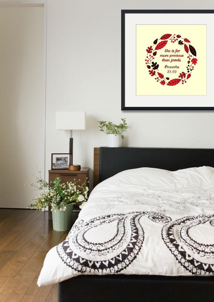 """""""BIBLE QUOTES RED WREATH-page-002&quot  by marymase"""