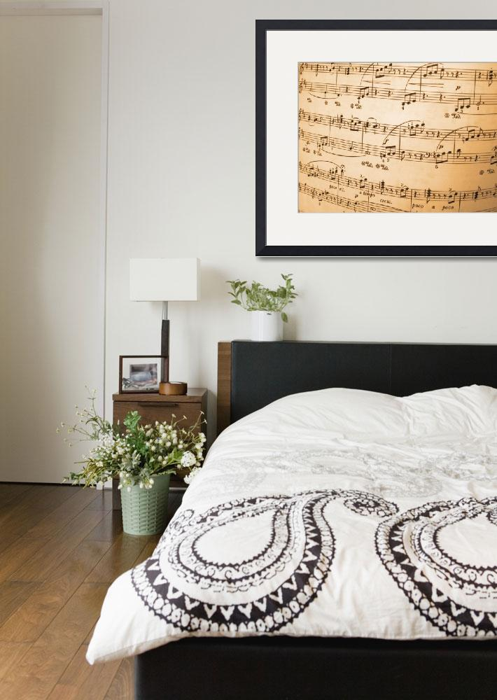 """""""Music Notes&quot  by ArgosDesigns"""