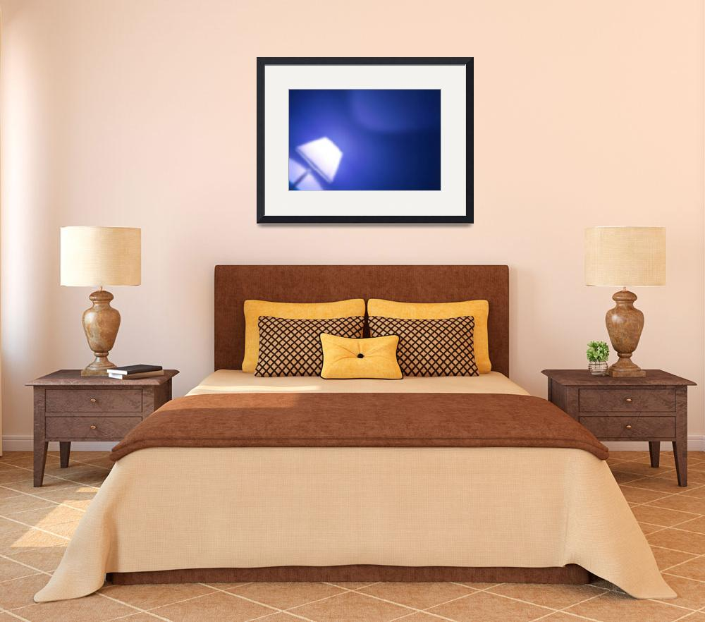 """""""Abstract of a lamp in a hotel room""""  by Semi-detached"""
