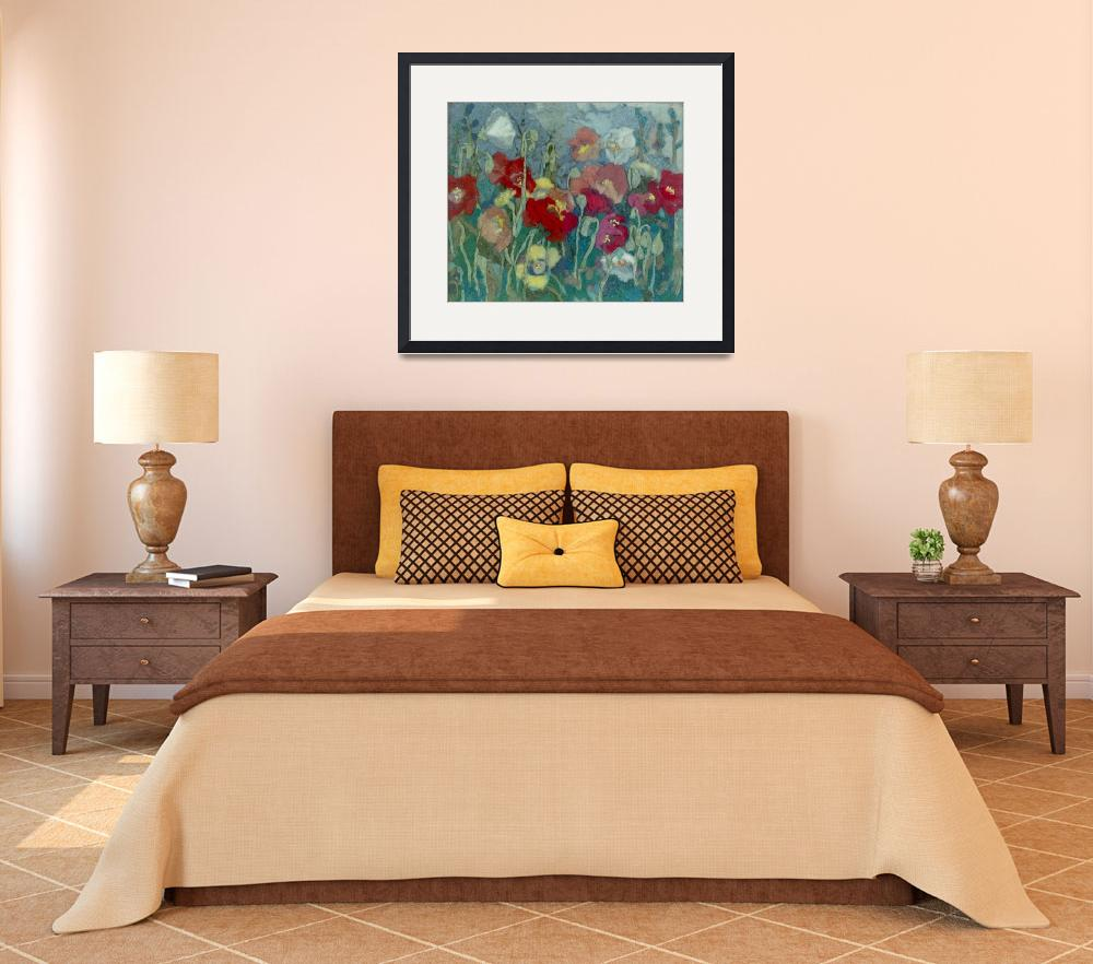"""""""Poppies Tapestry""""  (2007) by theartistfemme"""