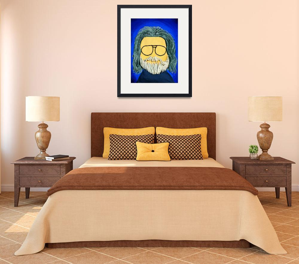 """""""Jerry Garcia&quot  (1996) by pivenworld"""