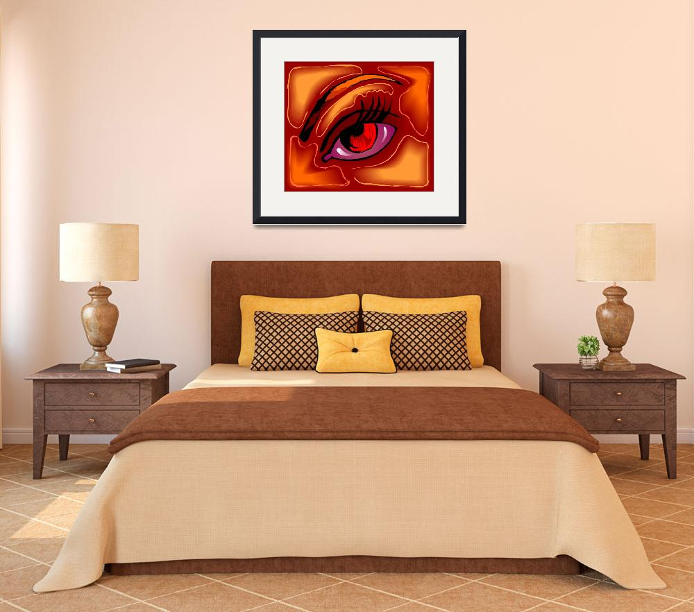 """""""Digital painting of an eye&quot  (2010) by digitalpainting"""