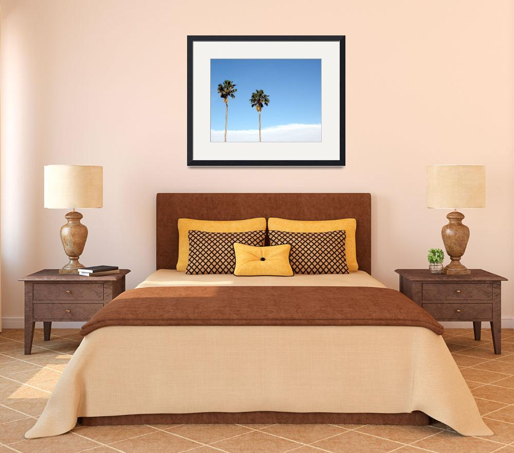 """""""Two Palm Trees&quot  (2009) by Alvimann"""