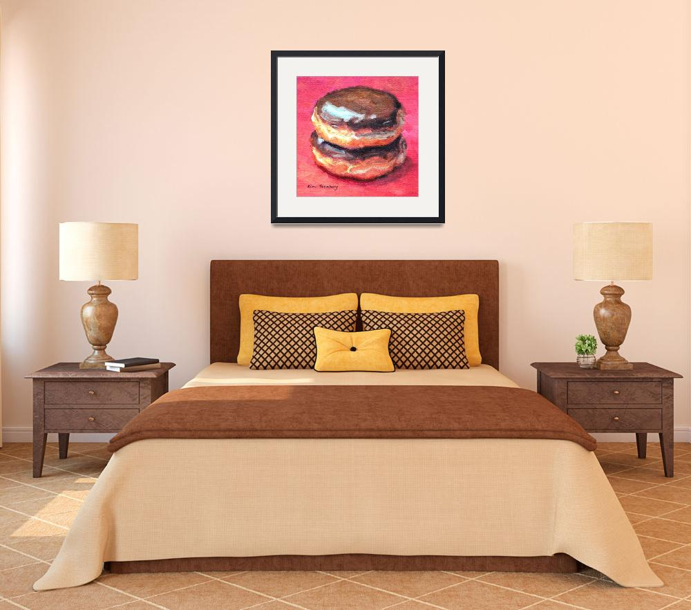 """Double Boston Cream""  (2014) by KimStenbergFineArt"
