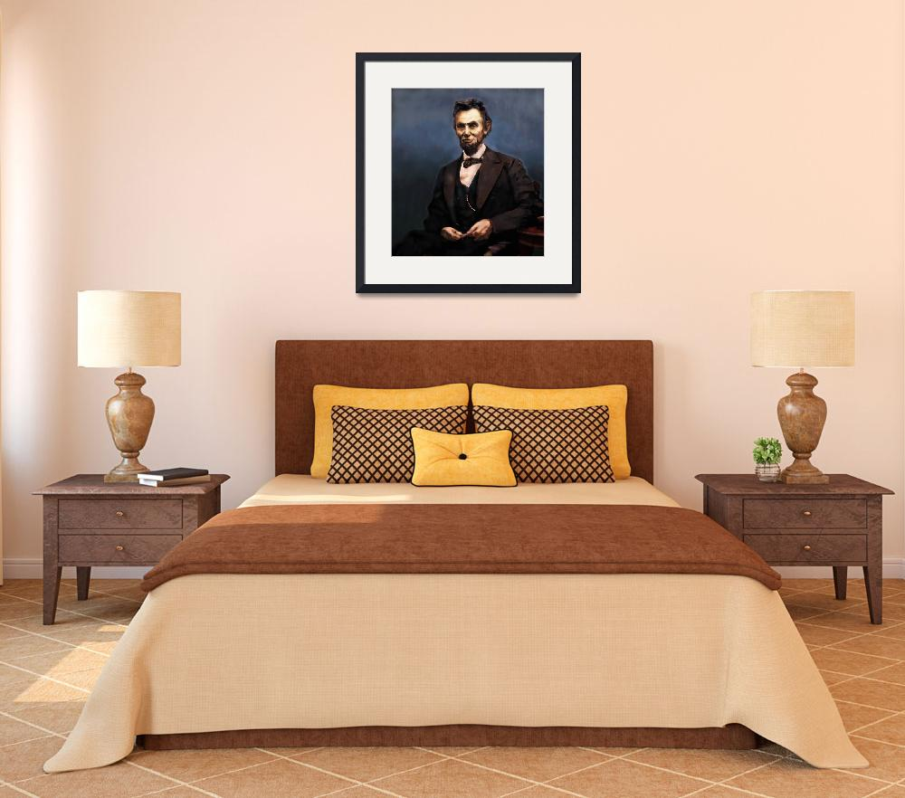 """""""Lincoln Portrait""""  (2009) by jimarmstrong"""