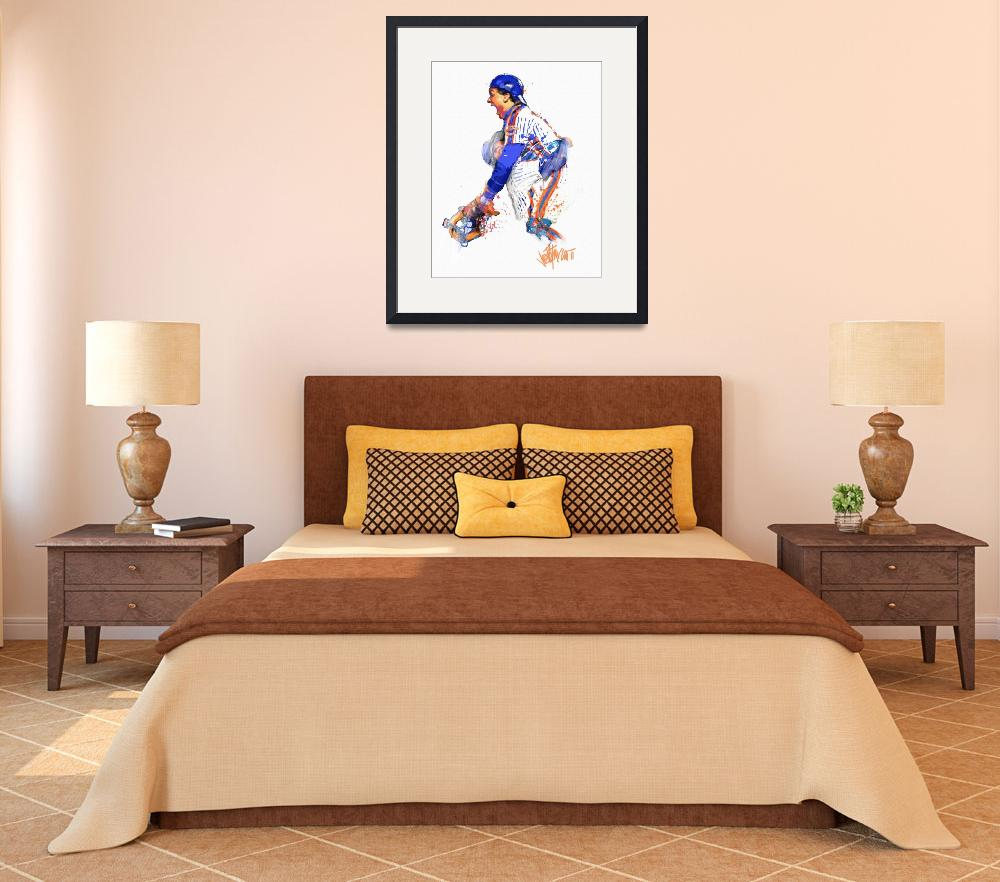 """""""Gary Carter  The Kid&quot  (2011) by joepetruccio"""