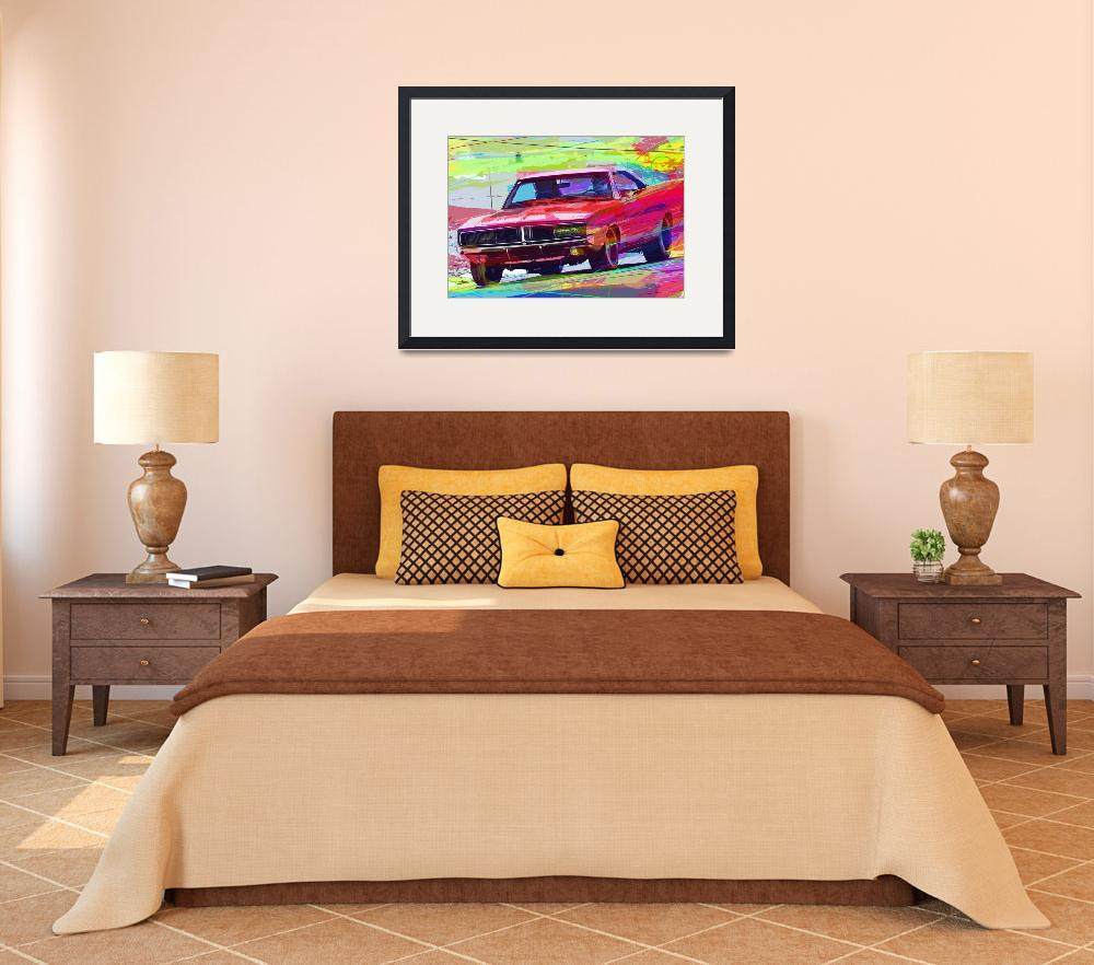 """""""1969 Dodge Charger Hemi&quot  (2012) by DavidLloydGlover"""
