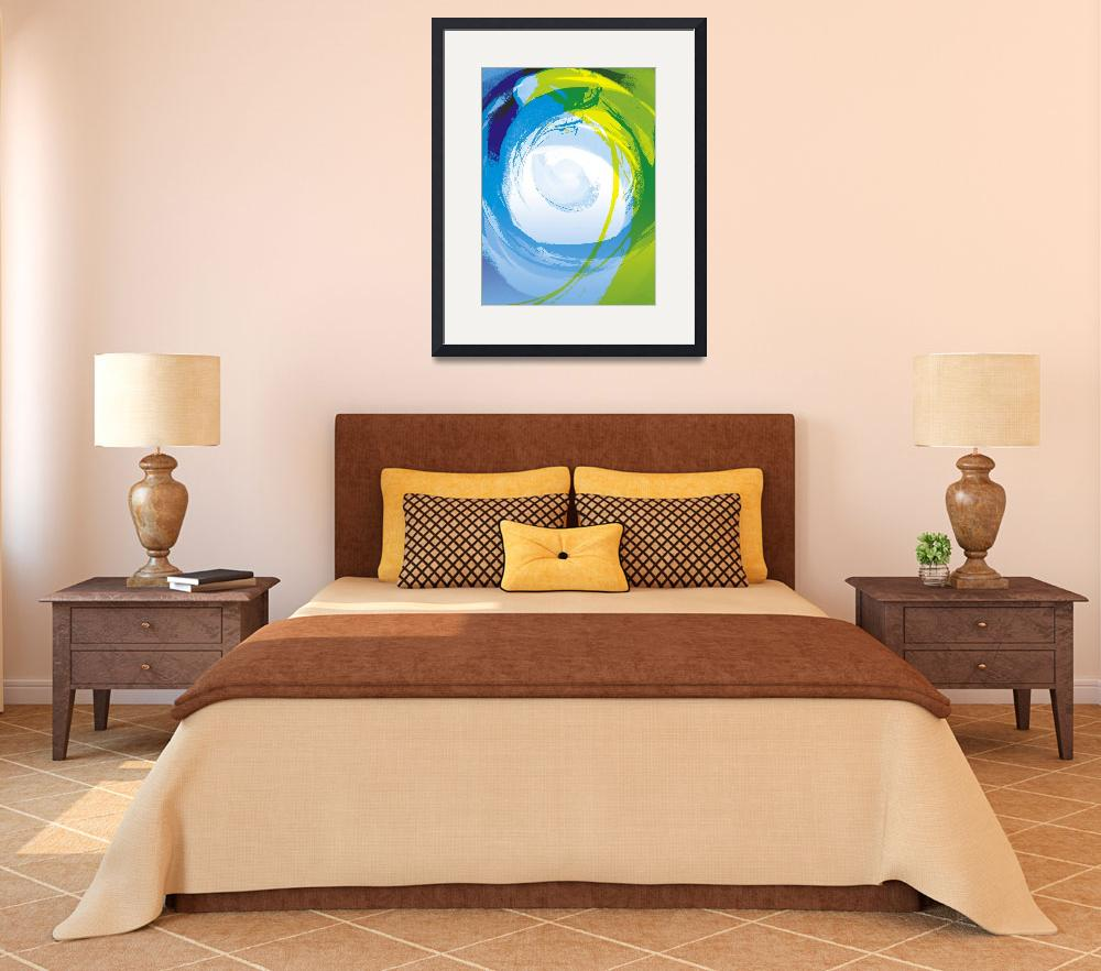 """""""Blue Enso&quot  by art4harmony"""