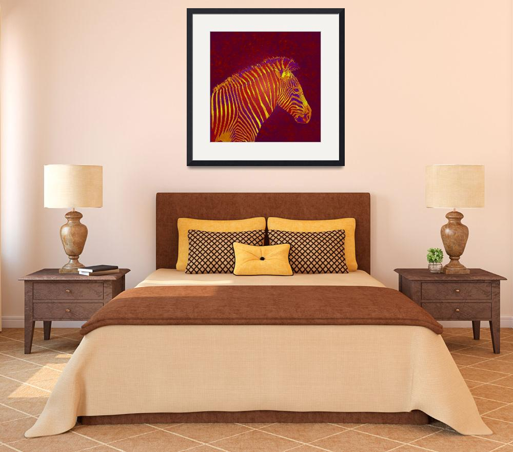"""red zebra""  (2010) by pietrastone"