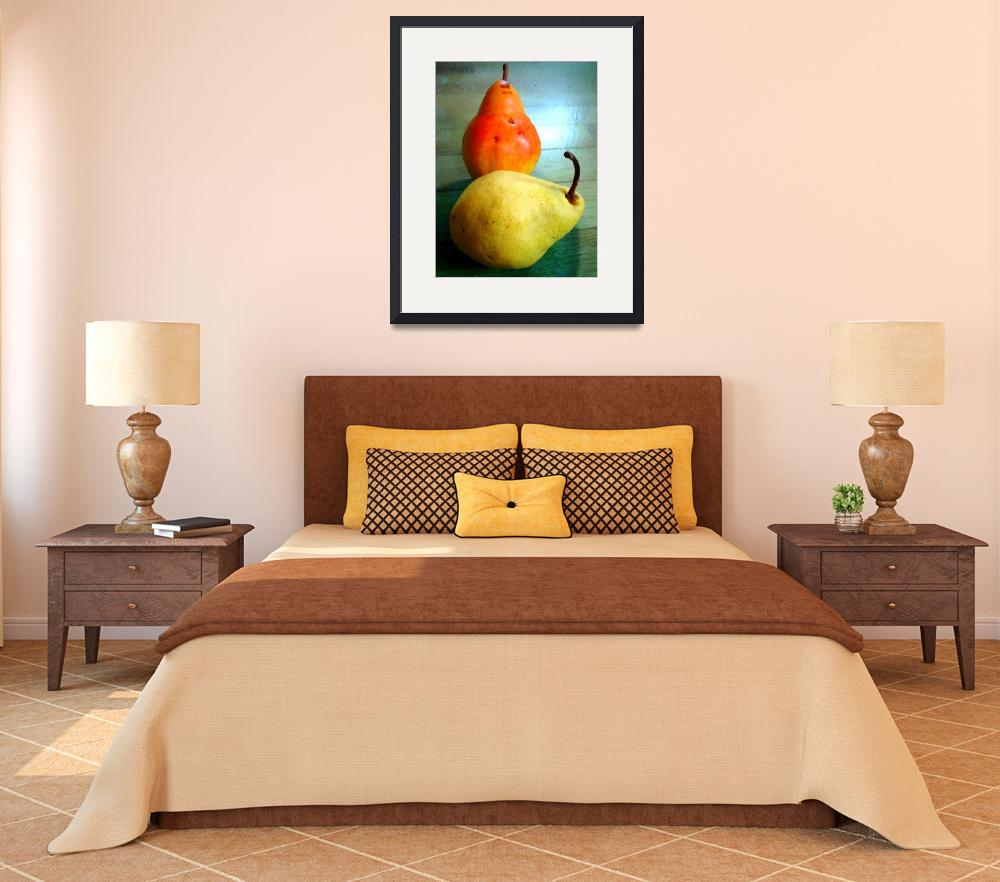 """""""Pair of Pears&quot  by sondrasula"""