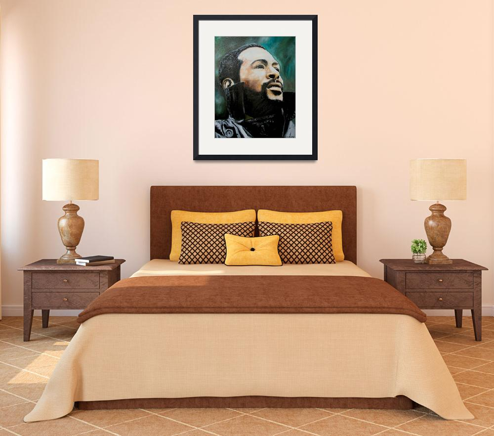 """""""Marvin Gaye""""  (2008) by iconicarts"""