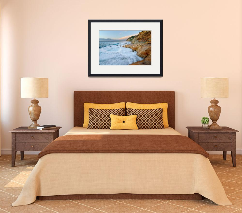 """""""Waves on the beach - Provence&quot  (2008) by frenchlandscapes"""