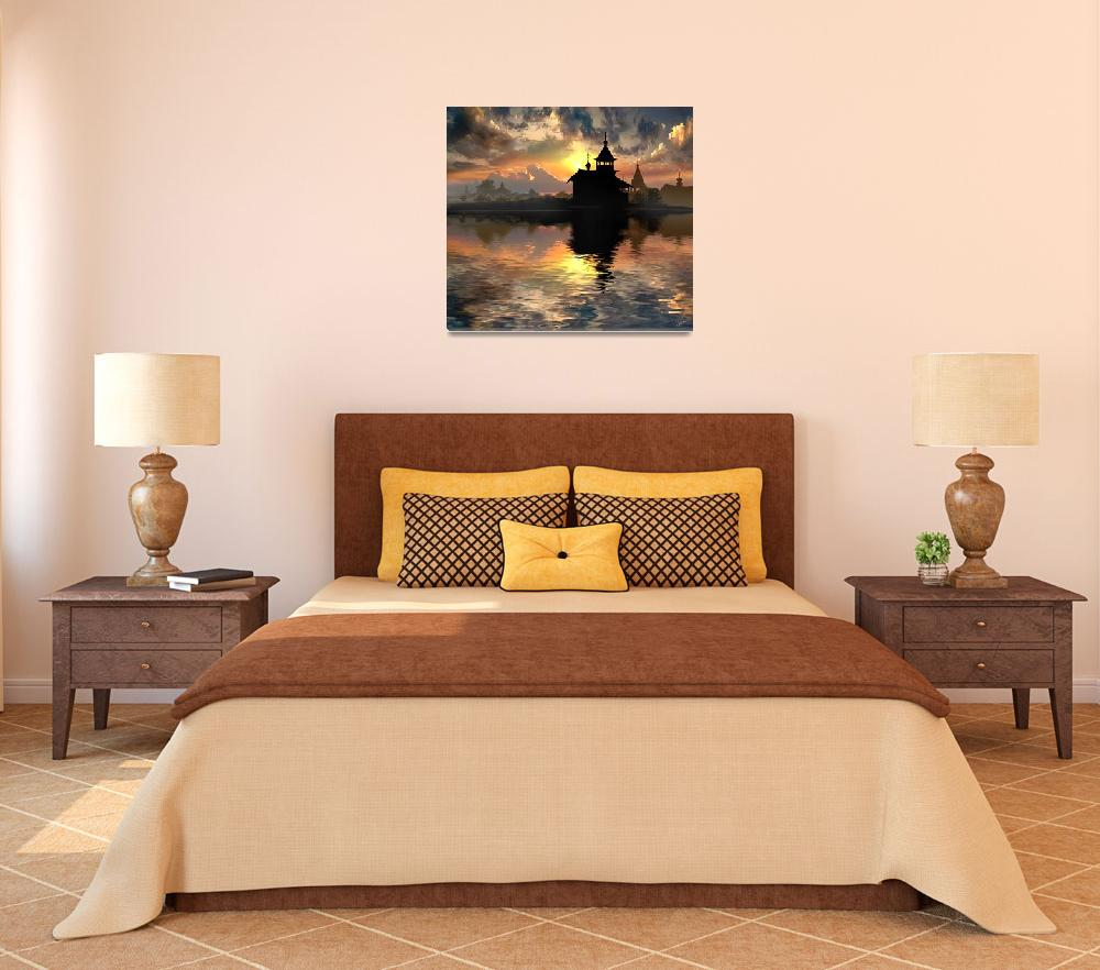 """""""Silhouettes of the Christianity&quot  (2008) by zenin"""