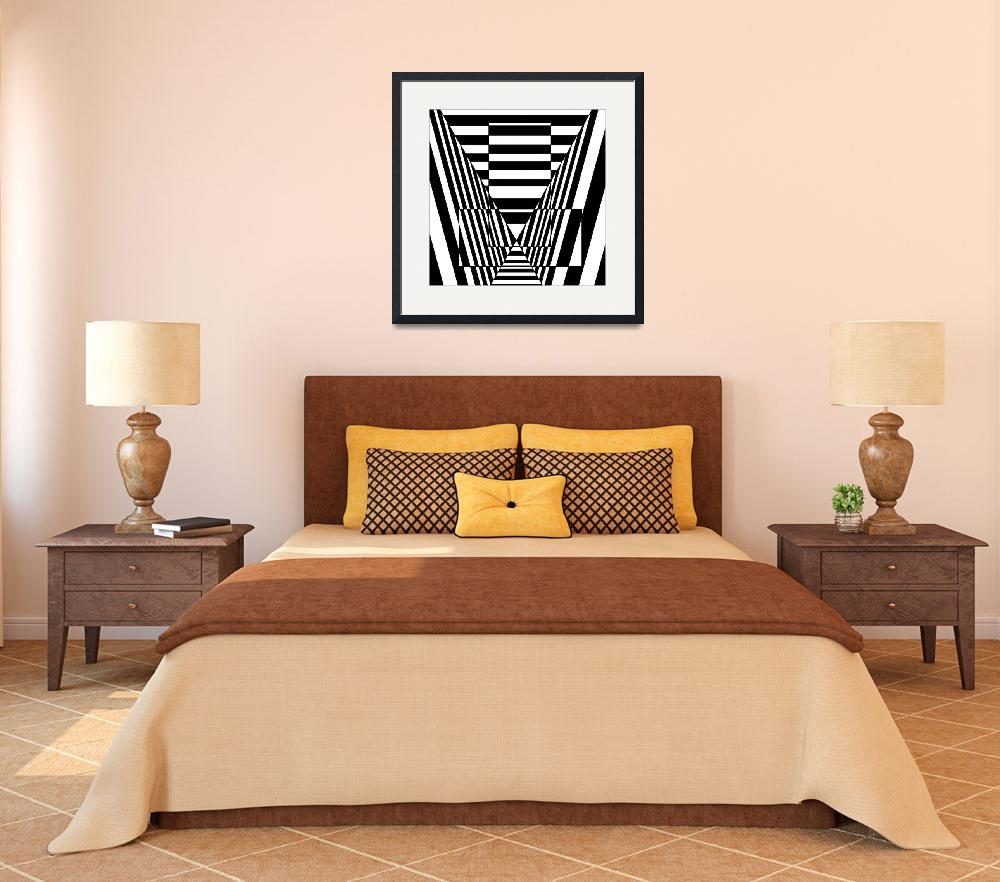 """""""Optical Illusion Valley&quot  (2012) by Casino"""