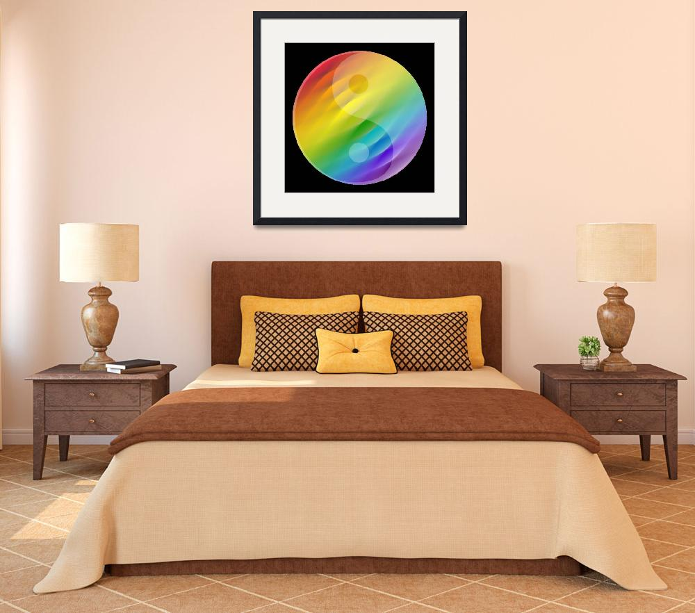 """zen color wheel 2 motif&quot  (2008) by AngelaHayden"