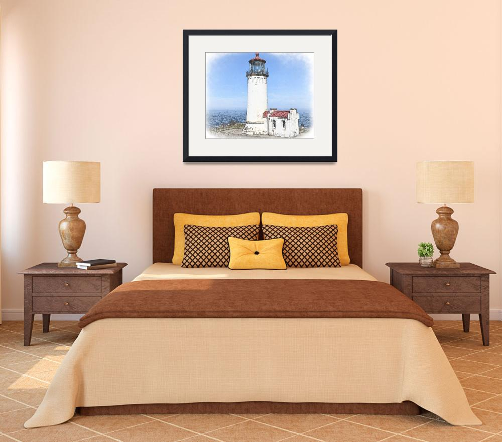 """""""North Head Lighthouse&quot  (2009) by Kirtdtisdale"""