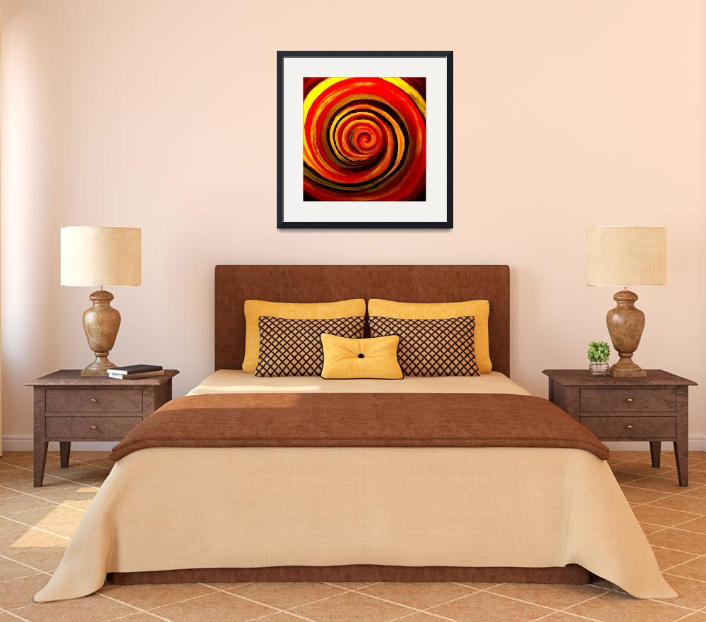 """""""Red Spiral&quot  (2013) by aidao"""