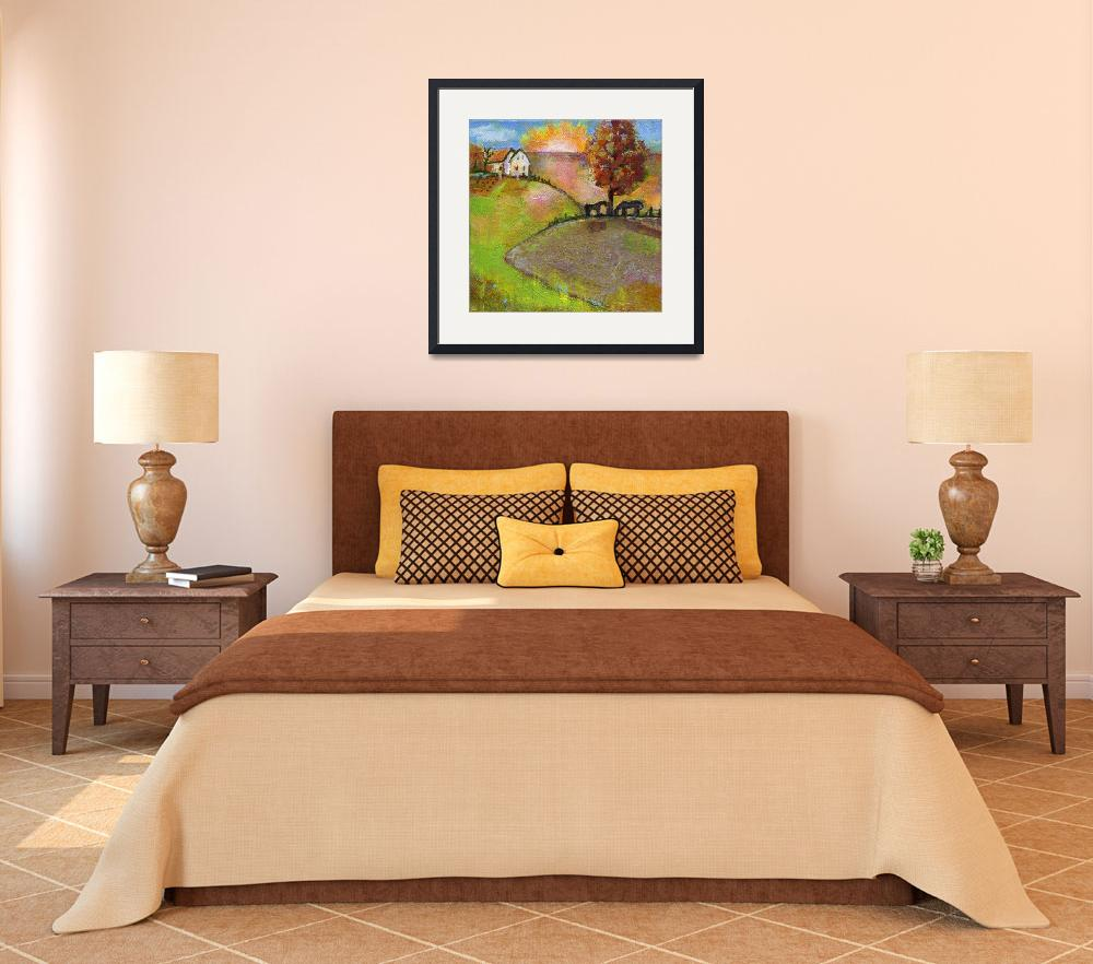 """""""Live in the Sunshine Art Painting&quot  by BlendaStudio"""