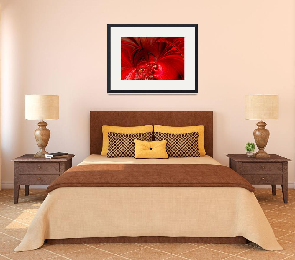 """""""Abstract Art Red Stage 3&quot  (2009) by shanmaree"""