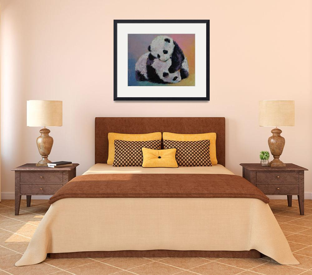 """""""Baby Panda Rumble&quot  by creese"""