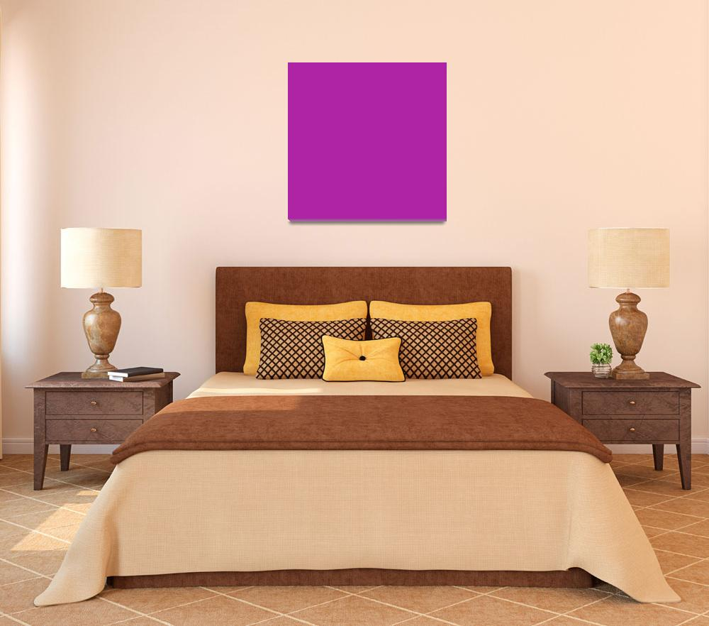 """Square PMS-253 HEX-AF23A5 Purple Violet&quot  (2010) by Ricardos"