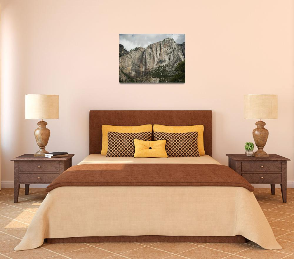 """""""Yosemite Falls&quot  (2011) by arricagallery"""