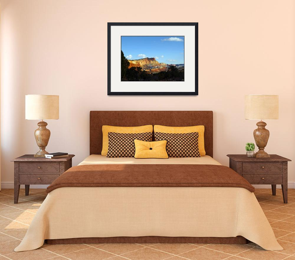 """""""An Evening at Capital Reef, National Park&quot  (2010) by webtwb"""