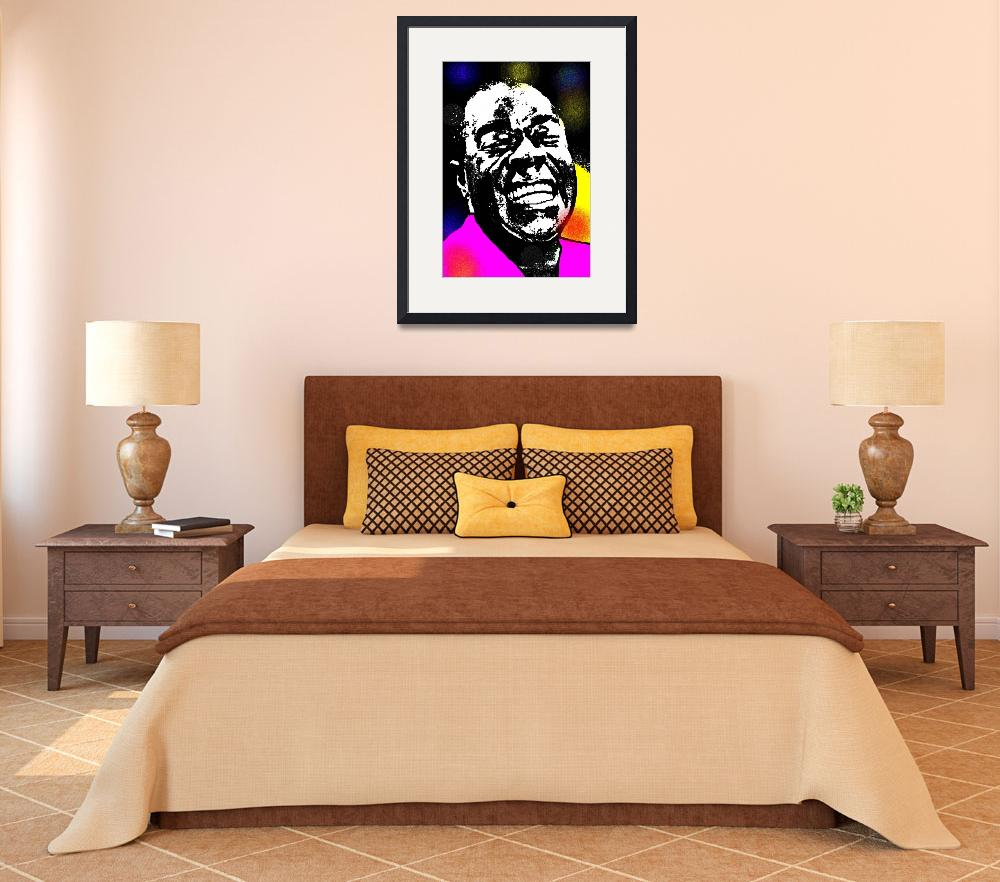 """""""LOUIS ARMSTRONG""""  (2013) by thegriffinpassant"""