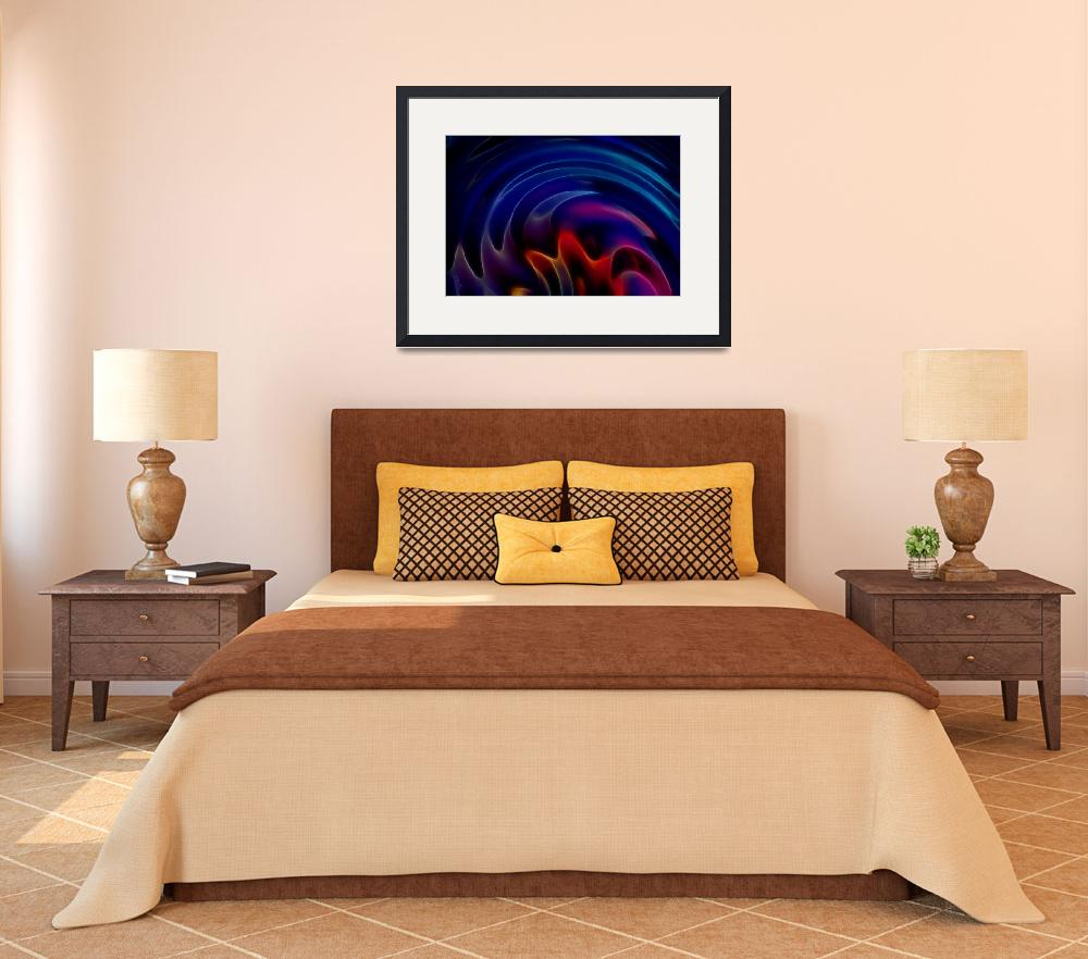 """Swirling Rainbow by Angel Honey, 2010&quot  (2010) by AngelsCreativeWorks"