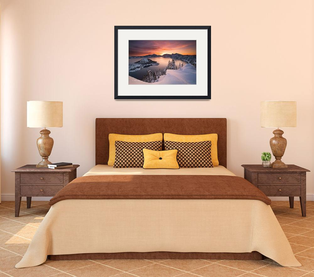 """""""Crater Lake Oregon&quot  (2010) by netbrands"""