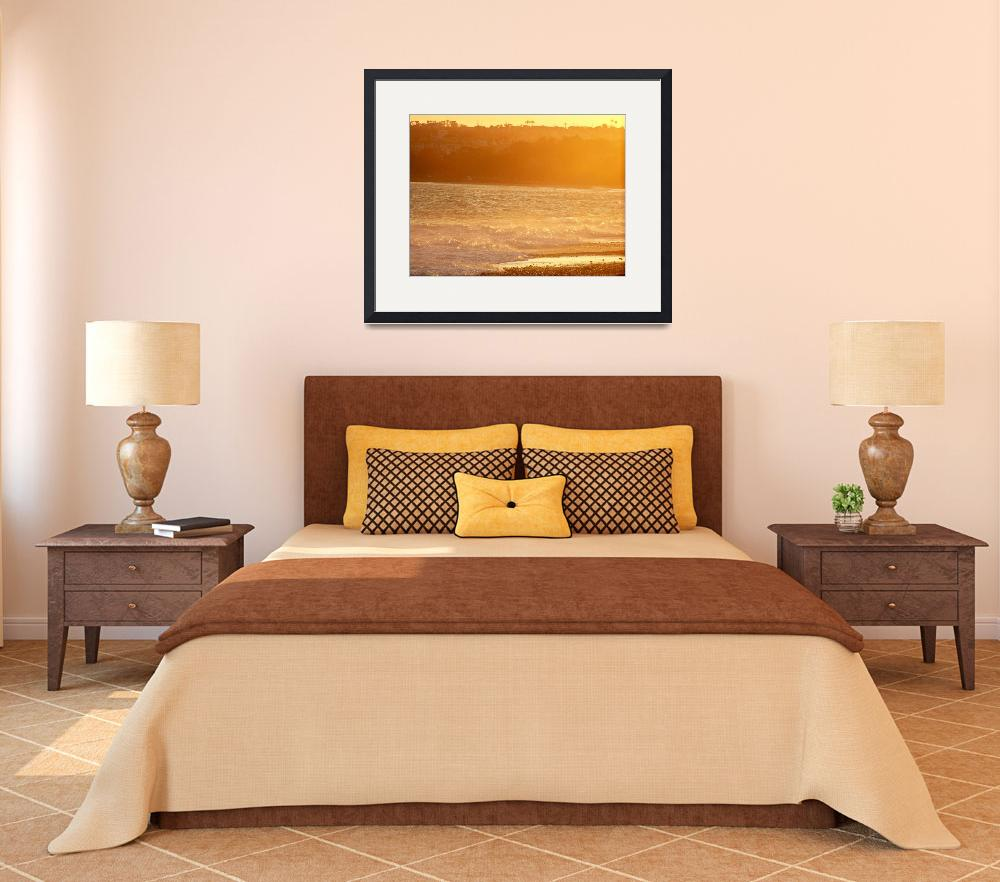 """Capistrano Beach Seascape 002&quot  (2009) by photoopt"