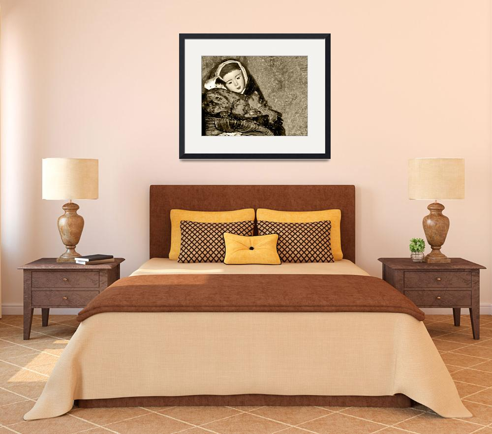 """""""Gift of Fine Art For Mom Sepia Tone Wall Decor&quot  (2010) by PhotographsByCarolFAustin"""