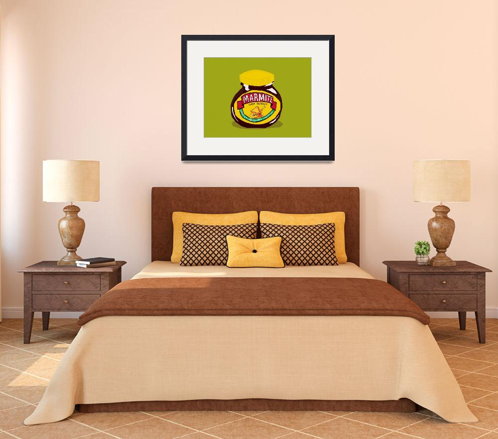 """""""marmite  - Love it or Hate it&quot  (2009) by roctopus"""