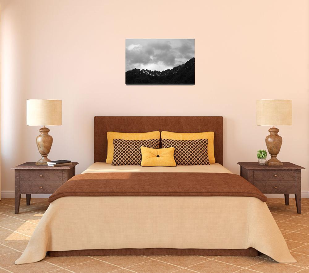 """Mountain Range 4""  (2011) by SkipNall"
