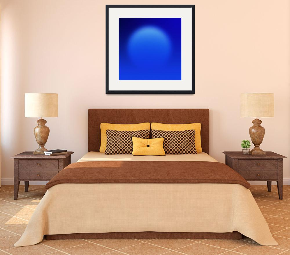 """""""Blue ball abstact&quot  by Morganhowarth"""