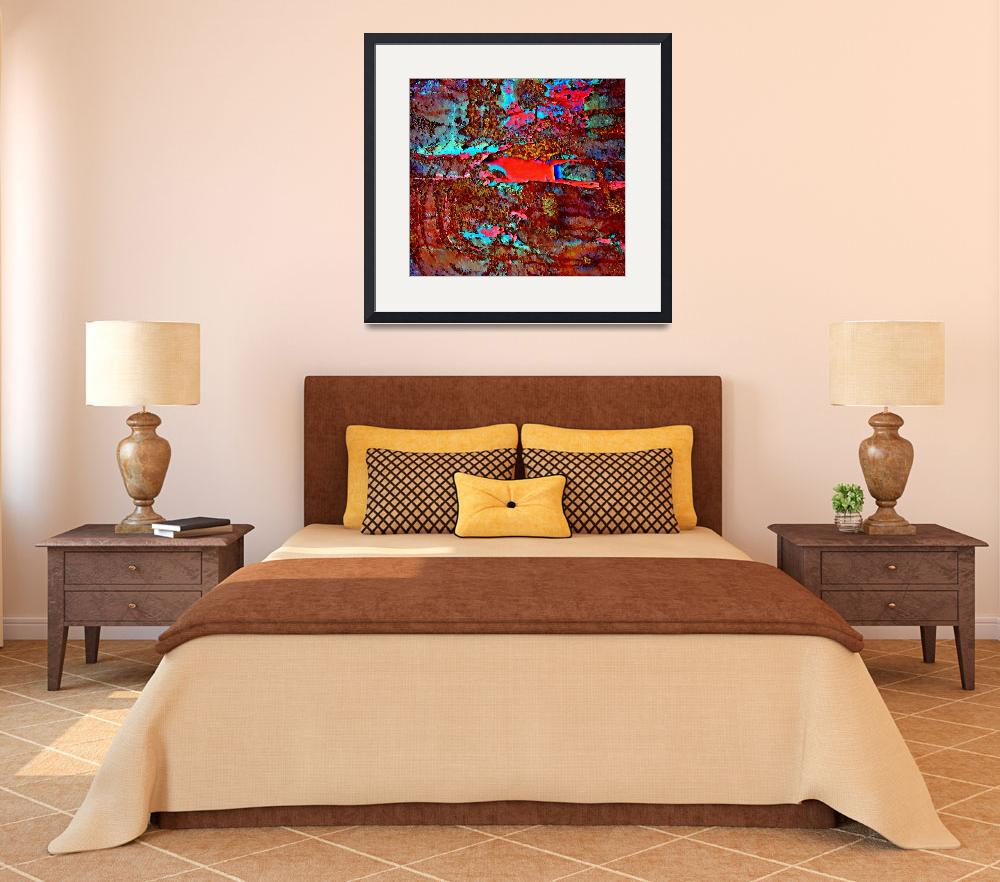 """""""Colorful Abstract""""  (2012) by bavosiphotoart"""