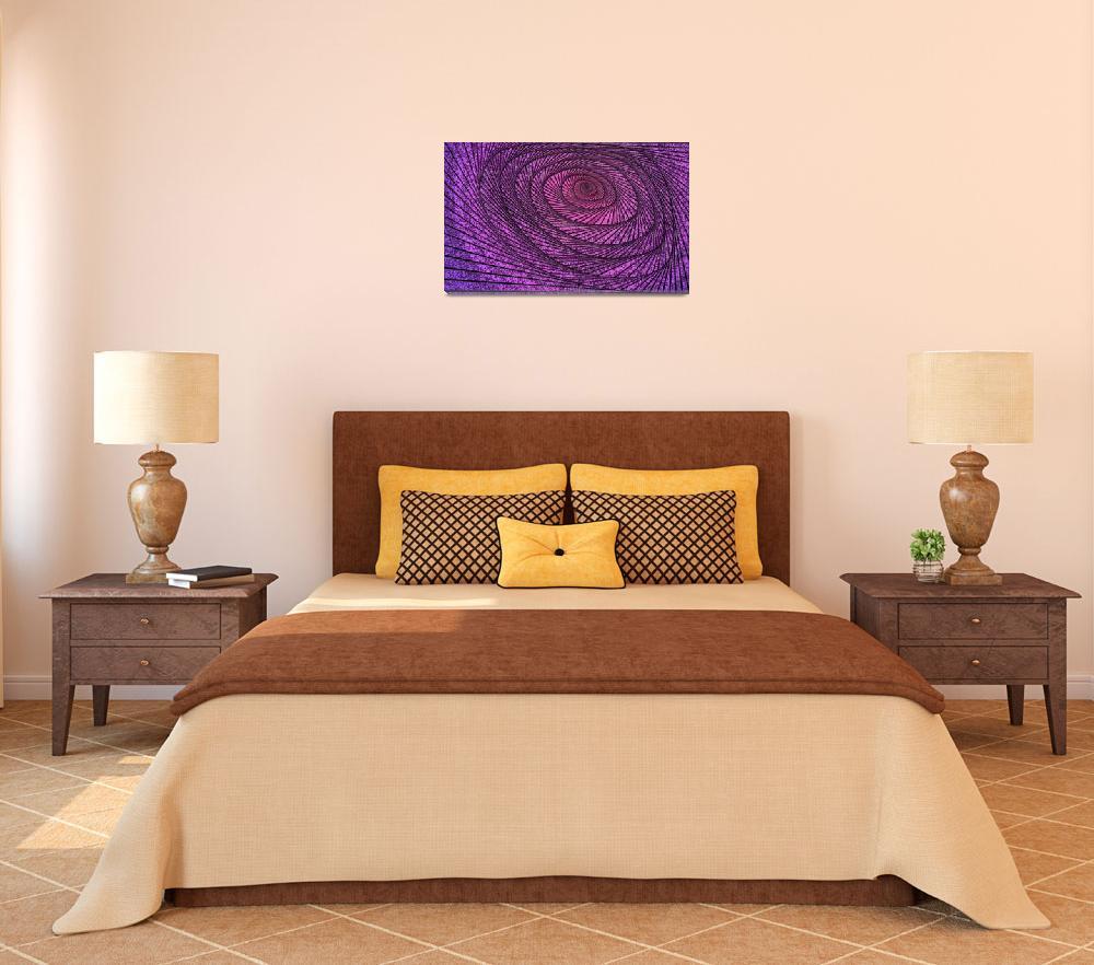 """grand design spiral""  (2012) by DCLWolf"