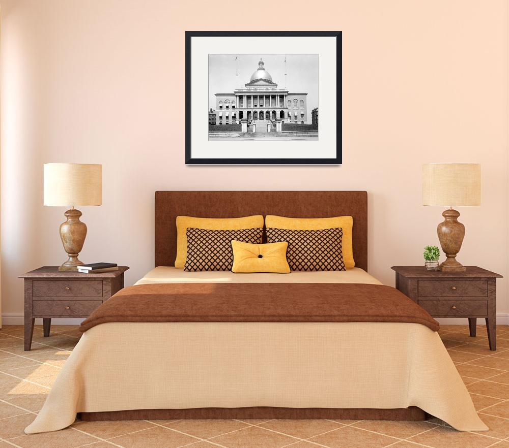 """""""STATE HOUSE BOSTON MASS.&quot  by homegear"""