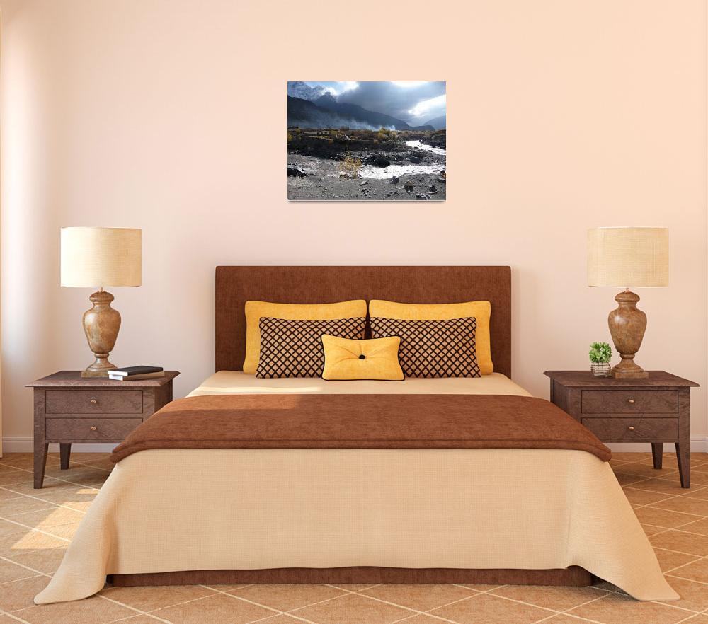 """""""Nepal Smoke Mountain""""  (2008) by noamt"""