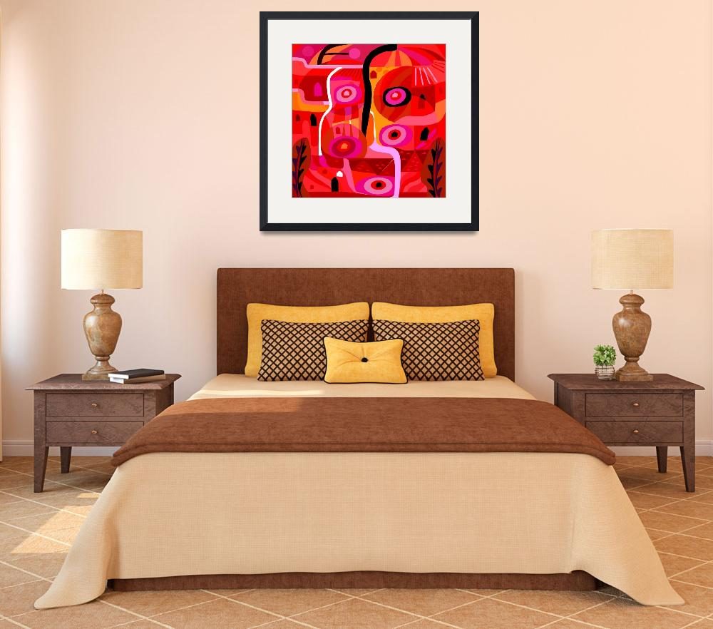"""""""Zacatecas (Red)&quot  (2017) by charker"""