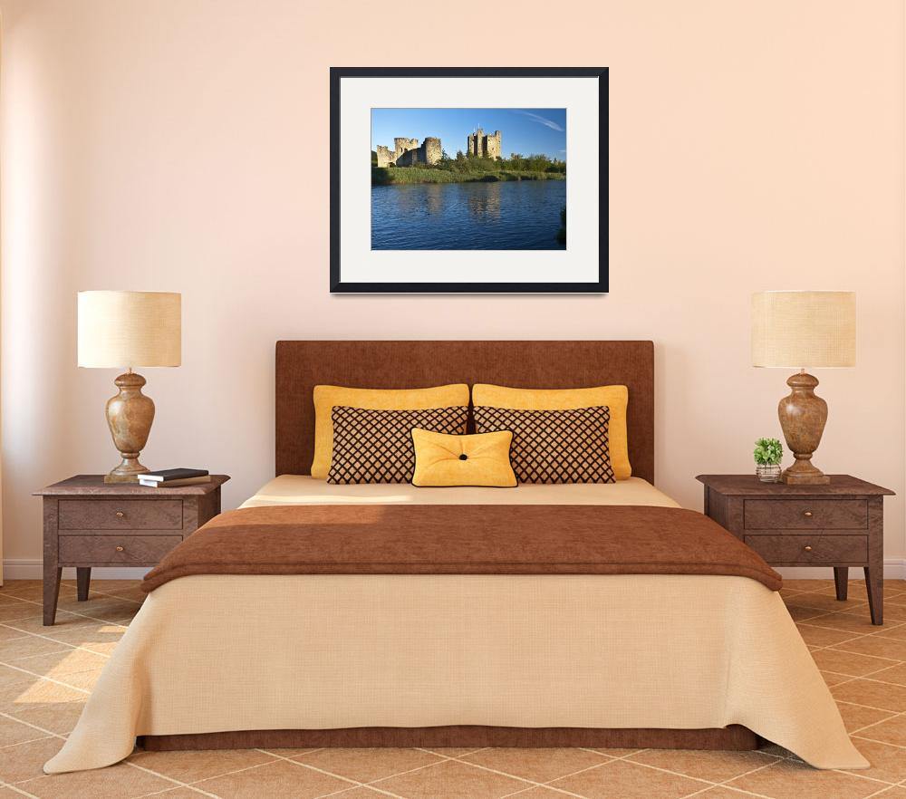 """""""Trim Castle and the River Boyne in a spring dawn""""  (2014) by MichaelStephenWills"""