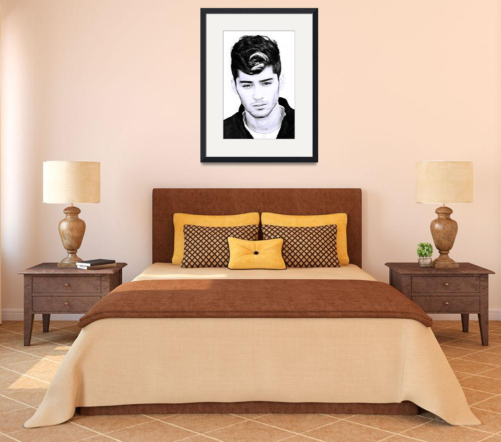 """""""Zayn Malik&quot  (2013) by D77TheDigArtisT"""