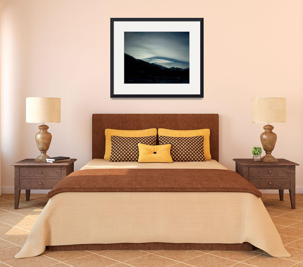 """""""Colorado morning sky over the mountains&quot  (2009) by Nanwright"""