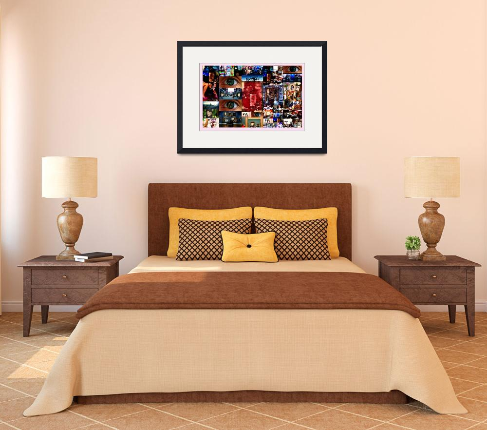 """""""1-Rose Billboard & Collage Exhibit&quot  by loveCDN"""