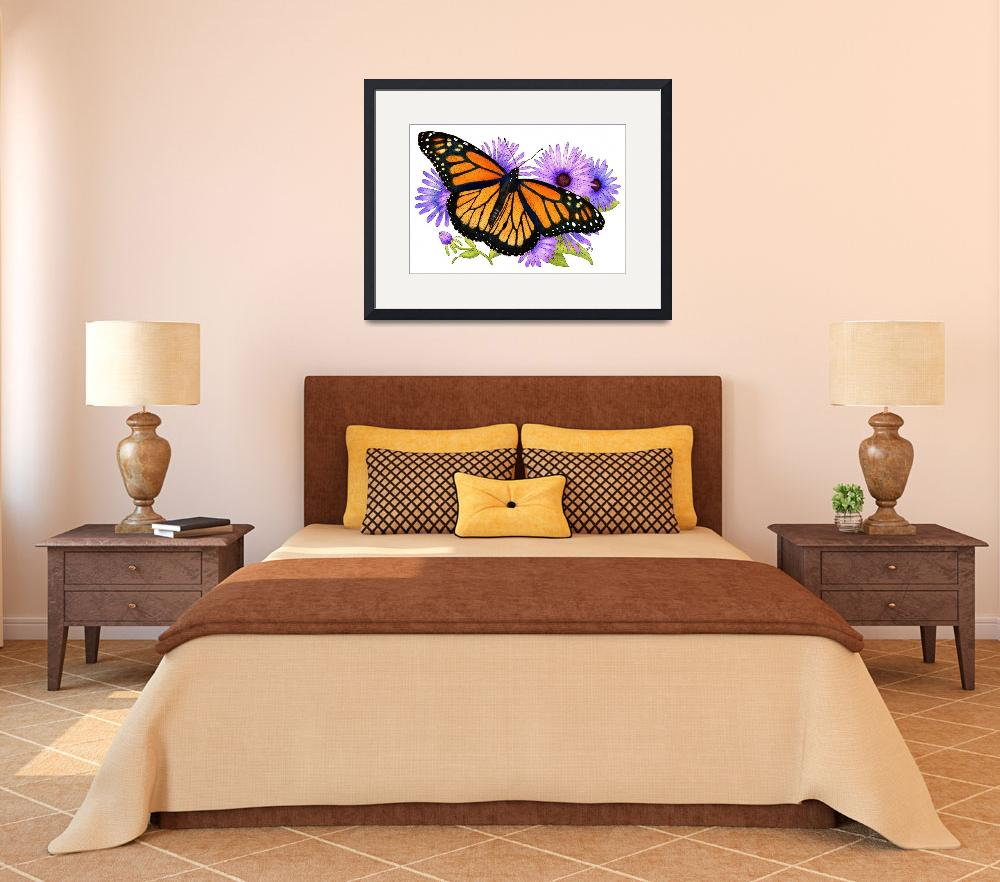 """Monarch Butterfly&quot  (2009) by inkart"