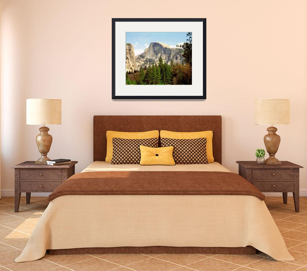 """""""Half Dome Framed&quot  by buffaloworks"""
