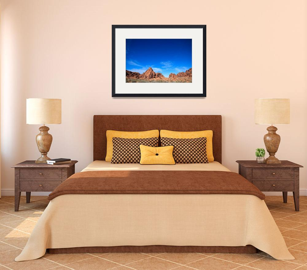 """""""Valley of Fire&quot  (2010) by RobertGarner"""