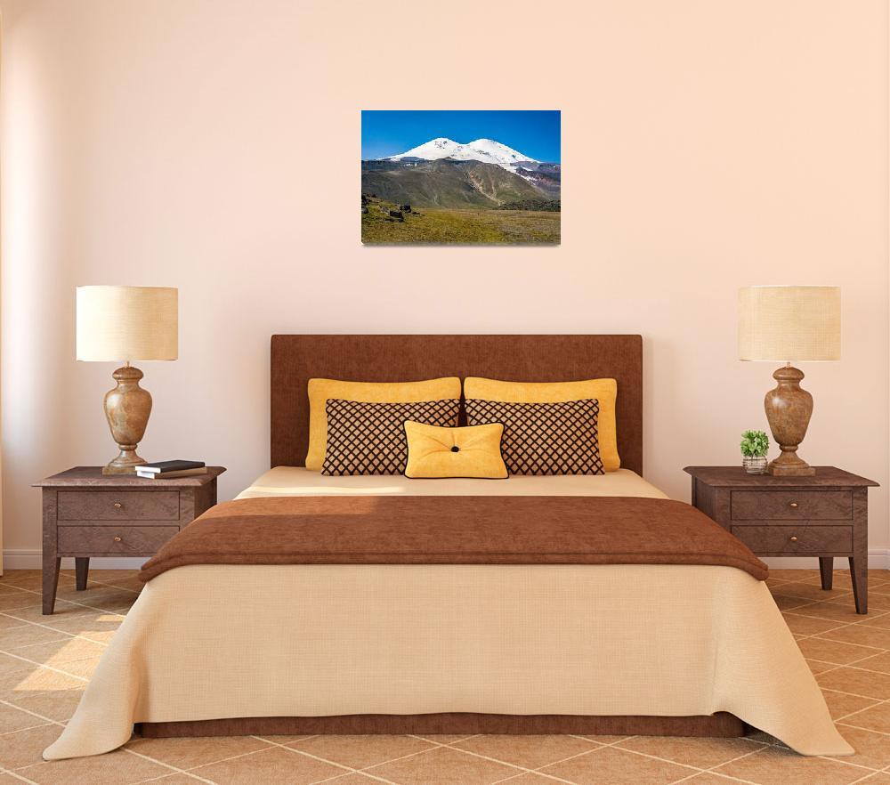 """Mount Elbrus, Russia""  (2007) by ExposedPlanet"